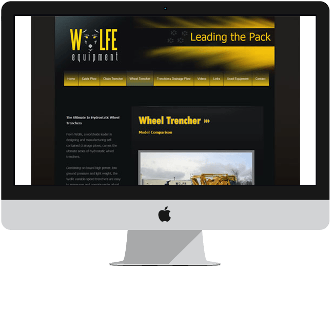 custom brochure website design