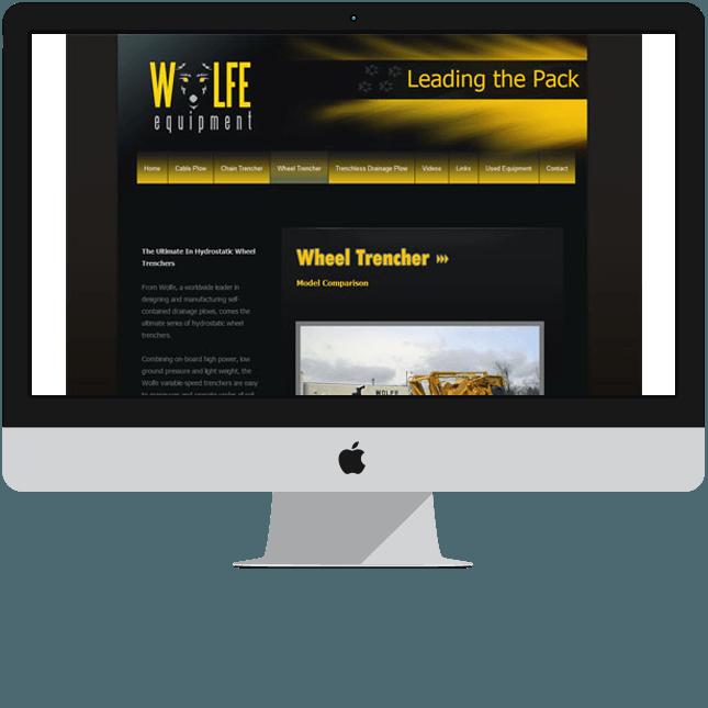 custom brochure website design