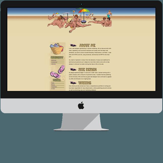 Kristina Bradley web design in Vancouver