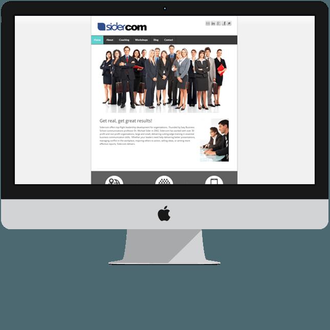 custom web design for mobile