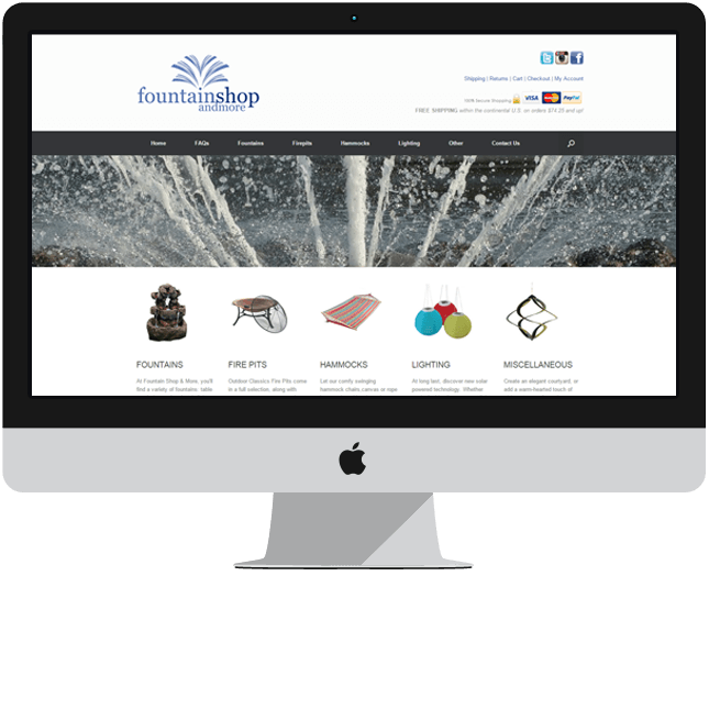 global ecommerce website design canada