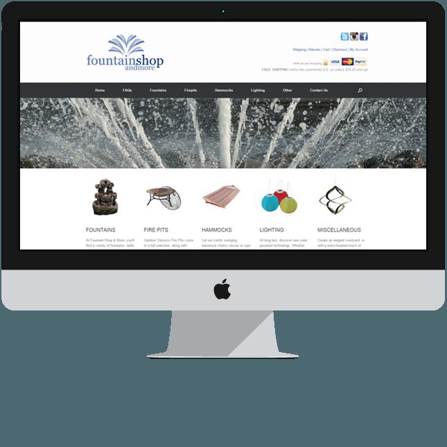 global ecommerce website design canada