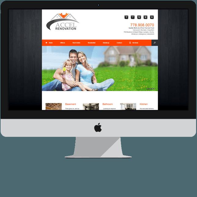 website designed london accel